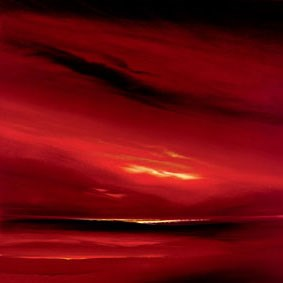 Skies of fire ii by Jonathan Shaw - Limited Edition on Paper sized 22x22 inches. Available from Whitewall Galleries